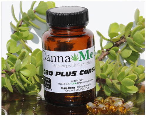 CBD Plus Capsules - Sativa - 30's