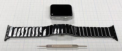 Ceramic Link Apple Watch Band