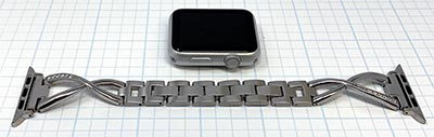 Stainless Steel Cuff Apple Watch Band