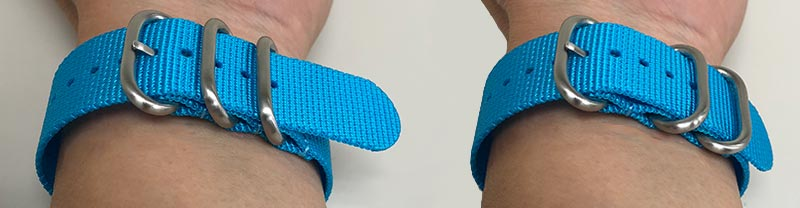 Sport Nylon for medium wrists