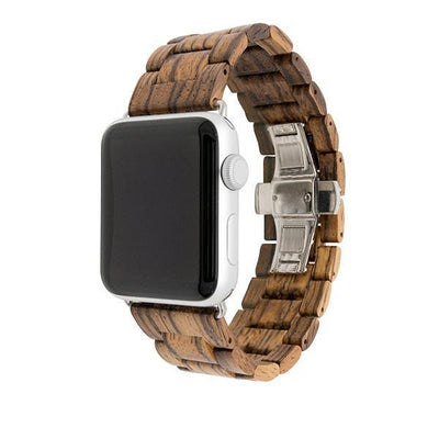 Zebra Natural Wood Watch Bands - Epic Watch Bands