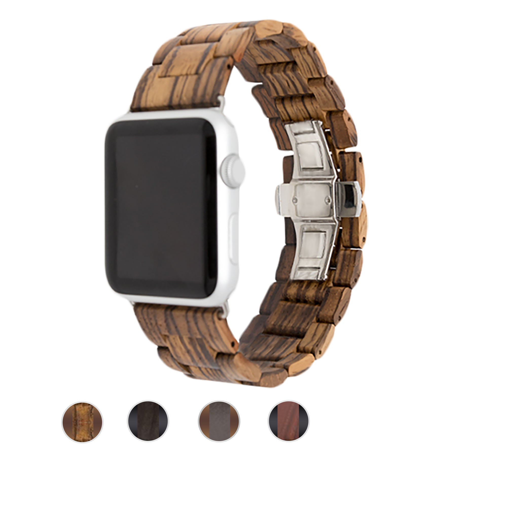 Natural Wood Apple Watch Bands
