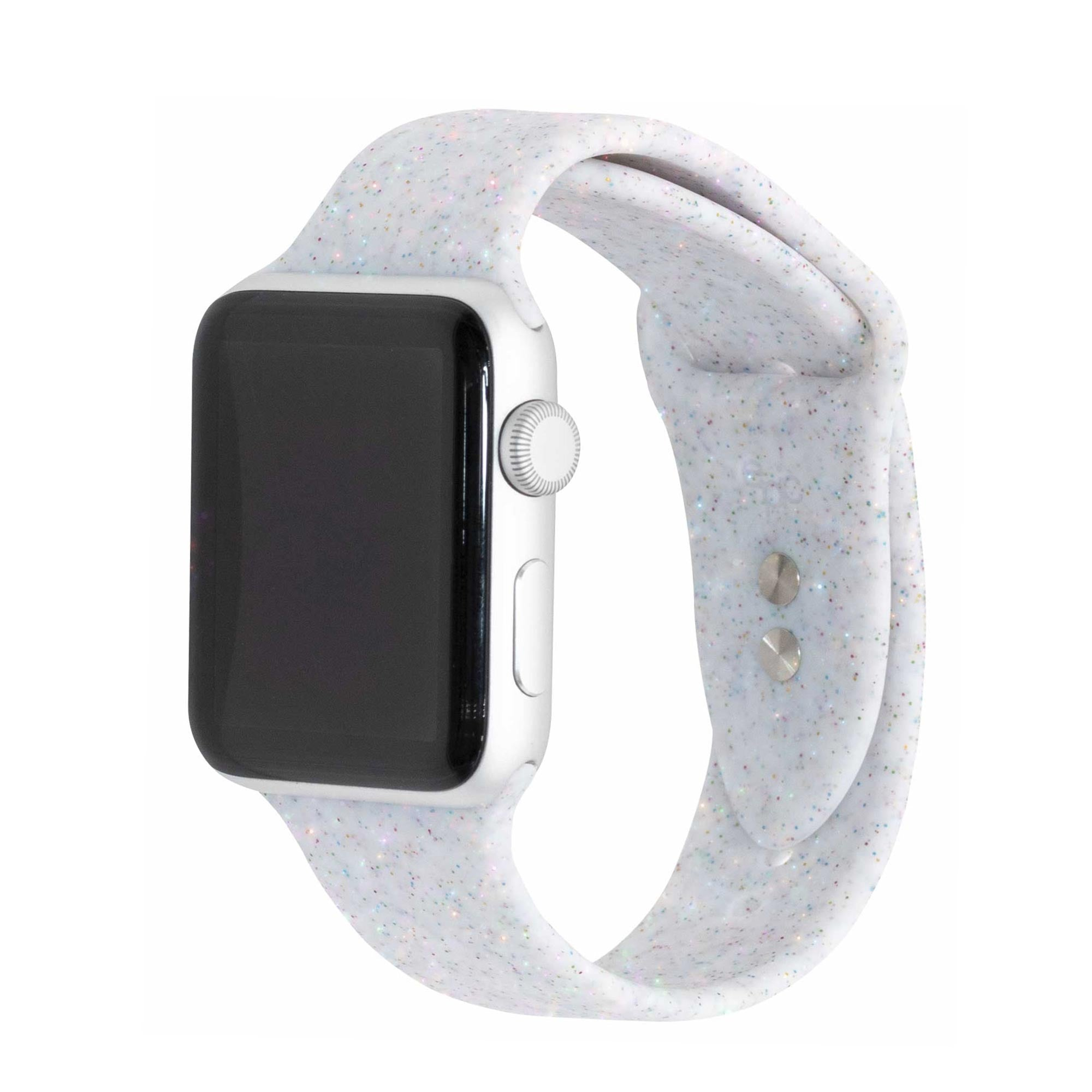 Shimmer Moonstone Specialty Silicone Apple Watch Bands | Epic Watch Bands