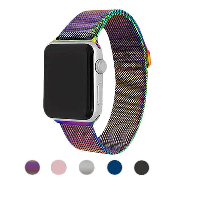 Stainless Steel Mesh Apple Watch Bands