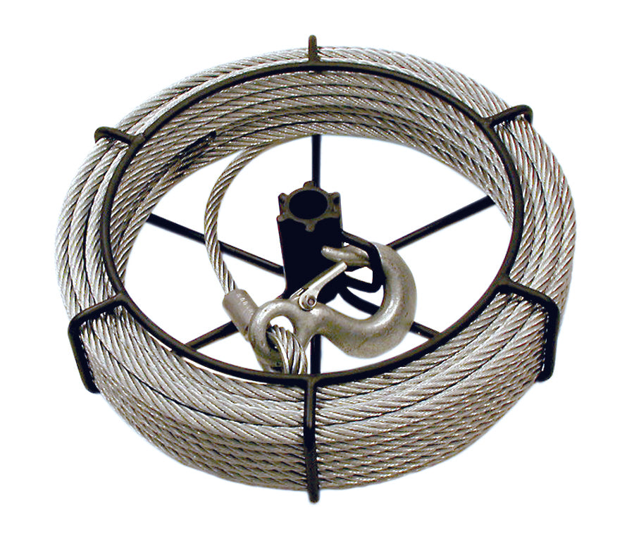 Assemblies JET JG-75/SGP-75A 3/4 Ton 100' Cable Assembly For /Sumo® Wire Grip Pullers