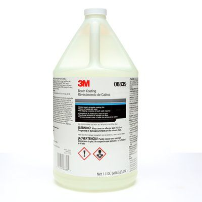 Paint Prep 3M 6839 Booth Coating 06839 1 Gallon (3.8 L)