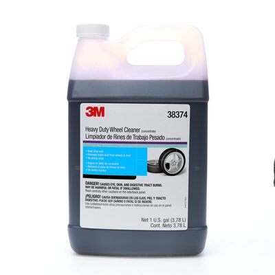 3M 38374 HEAVY DUTY WHEEL CLEANER 38374 1 GAL (3.78 L) 3M 7000000620