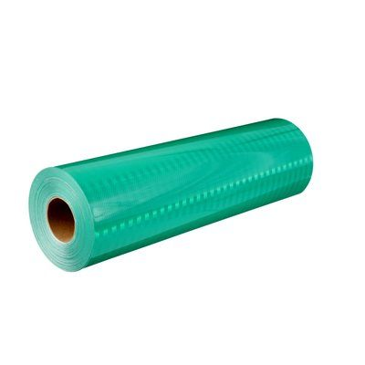 Reflective Sheeting 3M 3930-3937-24X50 High intensity Prismatic Reflective Sheeting 3937 Green 24 in x 50 Yards