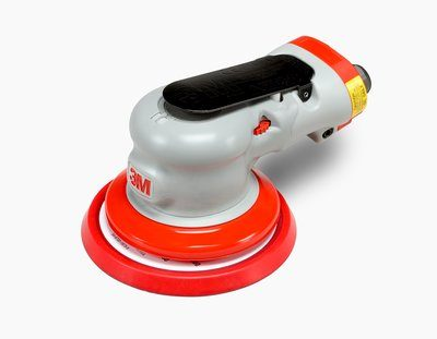 Orbital Sanders 3M AB28495 Random Orbital Sander Elite Series 28495 5 in Non-Vacuum 5/16 in Orbit