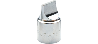 Sockets Gray 405A 1/2 Inch Drive Chrome Drag Link Socket .109 X 3/4 Inch