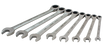 Wrenches Gray 59708A 8 Piece Sae, Combination Fixed Head, Ratcheting Wrench Set, 5/16 Inch - 3/4 Inch