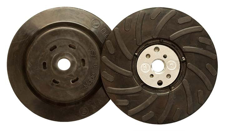 Nuts Klingspor 305849 Disc Pads Fibre Backup Pad With Slots 4-1/2 & Retaining Nut 5/8-11