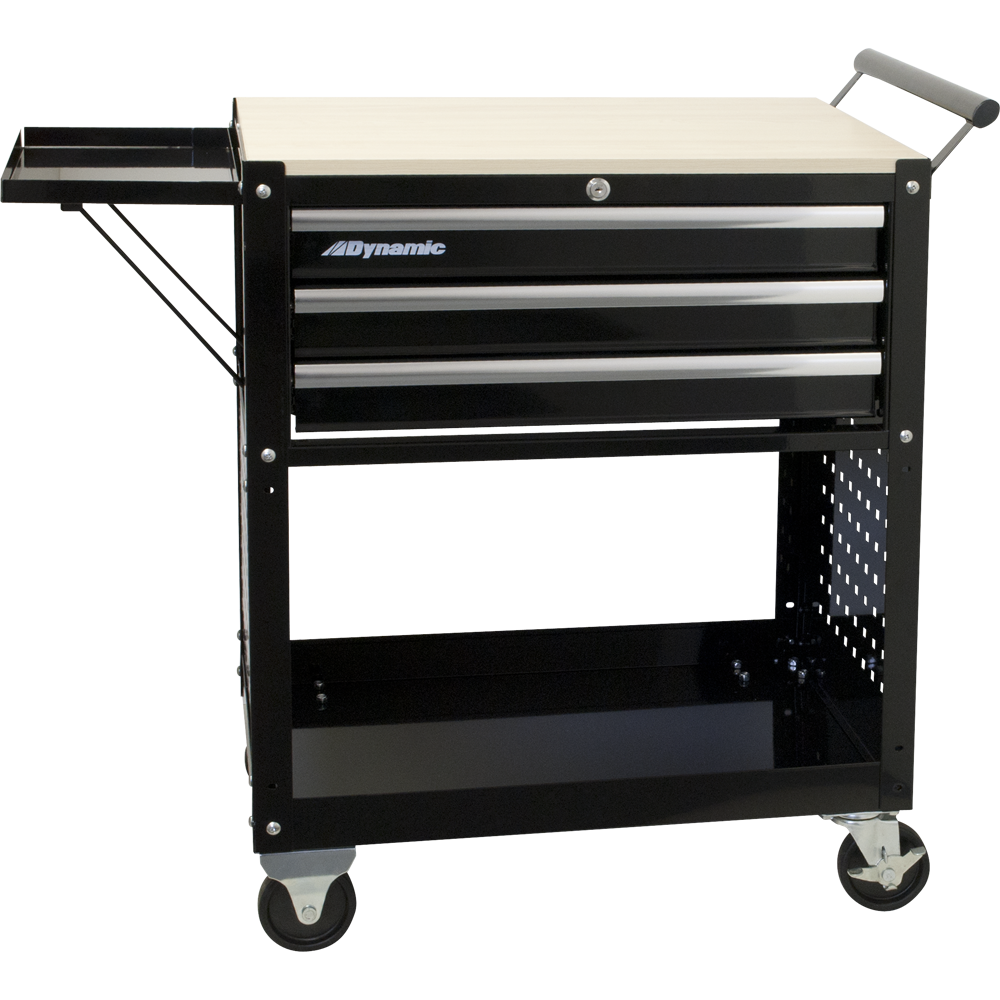 Dynamic D069102 Tools 3 Drawer Service Cart
