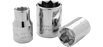 Sockets Gray D412S 3/4 Inch X 1/2 Inch Drive 8 Point Standard Length Chrome Finish Socket