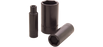 Sockets Gray PL2438 1-3/8 Inch X 1/2 Inch Drive 6 Point Deep Length Black Impact Socket
