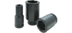 Sockets Gray PL2632 1 Inch X 3/4 Inch Drive 6 Point Deep Length Black Impact Socket