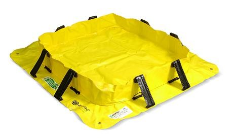 Spill Containment Enpac 5700-YE Stinger Yellow Jacket 4' X 4' X 8 Inch