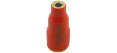 Drives Gray V108-I 1/4 Inch X 1/4 Inch Drive 12 Point Standard Length 1000V Insulated