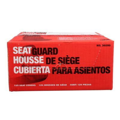 Seat Covers 3M B-30200 Marson Kwikee Disposable Plastic Seat Covers 30200 125 Per Box