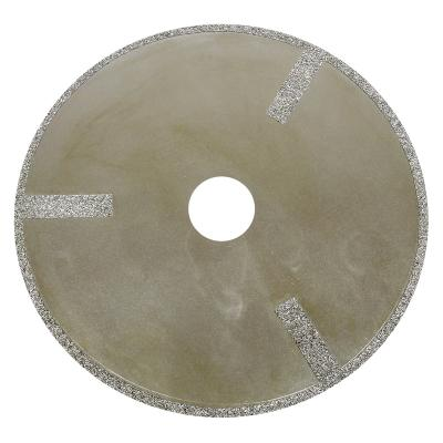 93650 5X 3/4 CH 40/50 Grit Side Spoked Diamond Cut-off Wheel Dynabrade 93650