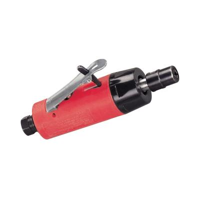 18000 .2 HP (149 W) Autobrade Red Straight-Line Die Grinder 25000 RPM Gearless Rear Exhaust 1/4 Collet Dynabrade 18000