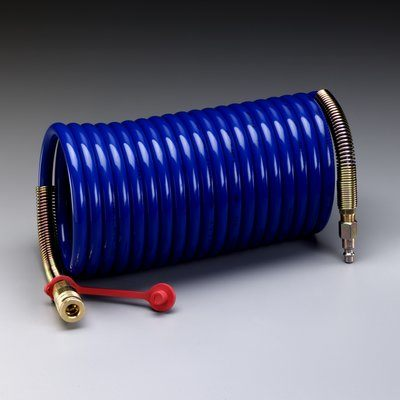W-2929-100 Supplied Air Hose High Pressure Coiled 100 Ft 3/8 in Id (30.4 m x 11.4 cm)