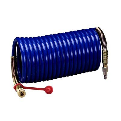 Air Hoses 3M W-2929-50 High Pressure Supplied Air Hose - Coiled (3/8 Inch ID x 50 ft)