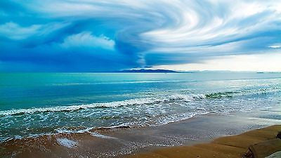 NATURAL SOUNDS MP3 DIGITAL DOWNLOAD, SEA ON THE SHORE, OCEAN WAVES LAPPING, NATURE, RELAXATION