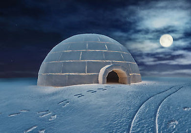 GUIDED MEDITATION MP3 DIGITAL DOWNLOAD, SEE YOUR OWN IGLOO ON AN ARCTIC PLAIN, SEE NORTHERN LIGHTS