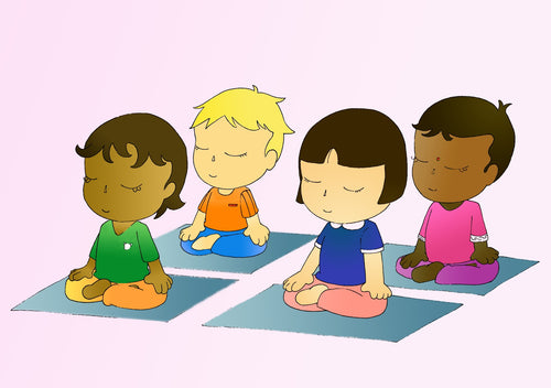 GUIDED MEDITATION FOR CHILDREN CD, RELAXATION FOR KIDS, EDUCATIONAL & FUN JOURNEYS