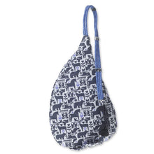 Kavu Mini Rope Bag Charcoal Fable