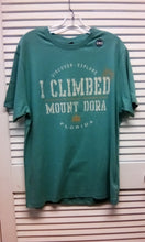I Climbed Mount Dora Tee /Turquoise