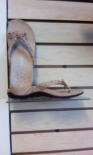 Vionic Rest Bella ll Toe Post Sandal Cork