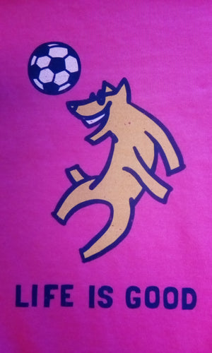 Girls Crusher Tee Rocket Soccer