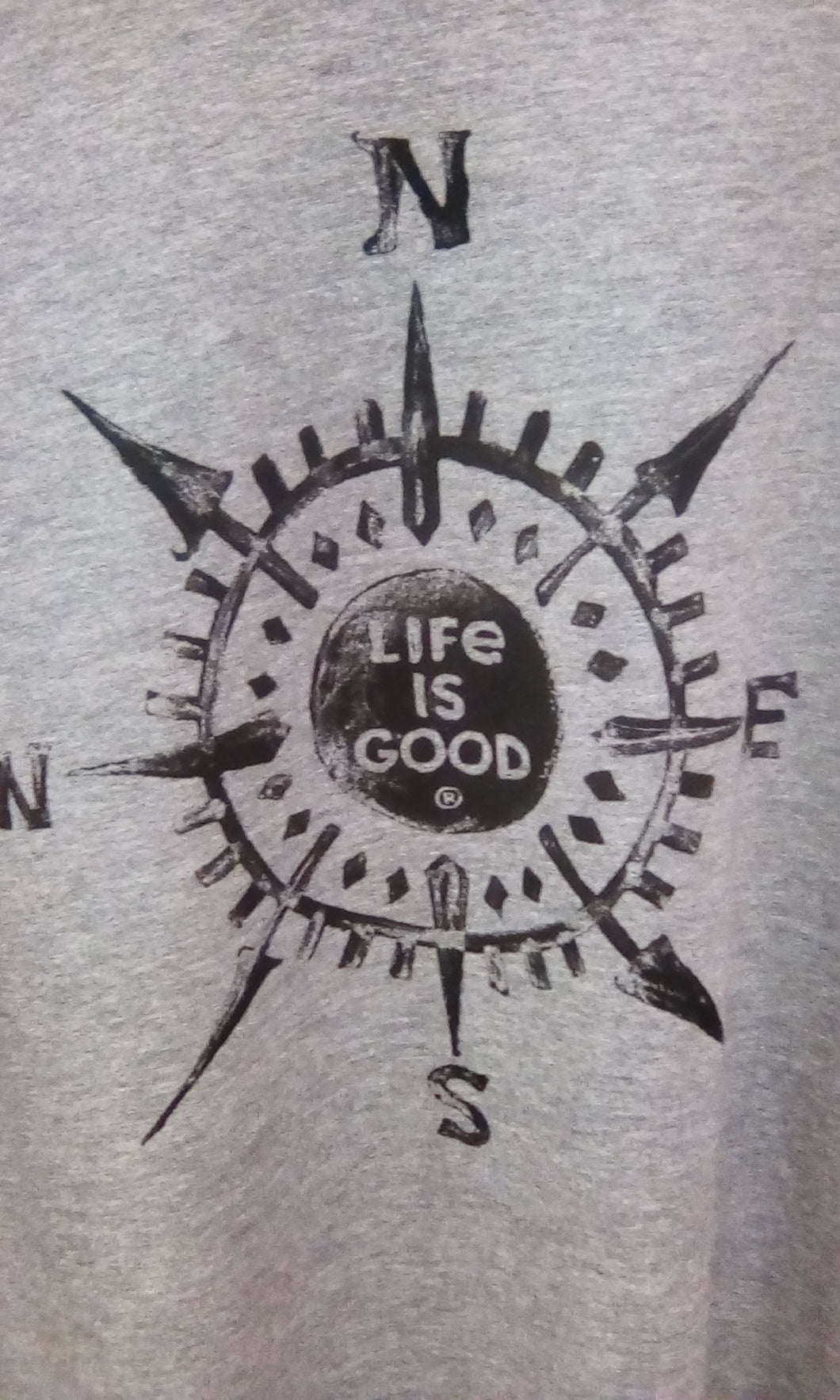 Men's Crusher Tee Life is Good Compass