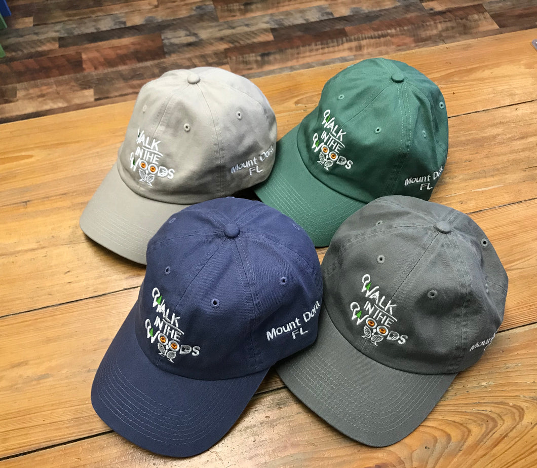 Walk in the Woods Logo Cap