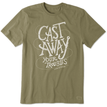 Men's Crusher Tee Cast Away Your Troubles