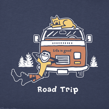 Men's Vintage Crusher Jake and Rocket Road Trip