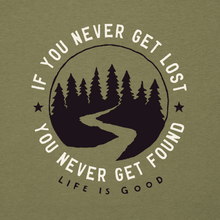 Men's Cool Tee Get Lost, Get Found