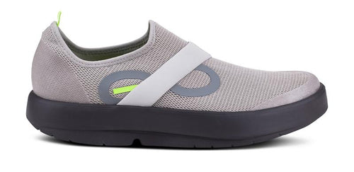 OOFOS Men's Oomg Low Shoe Black/Grey