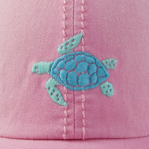 Sunwashed Chill Cap Turtle/ Happy Pink