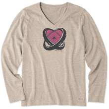 Women's Long Sleeve Love Biking