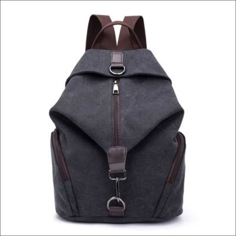 Backpacks GushGush Backpacks Canvas Large Capacity School Bags