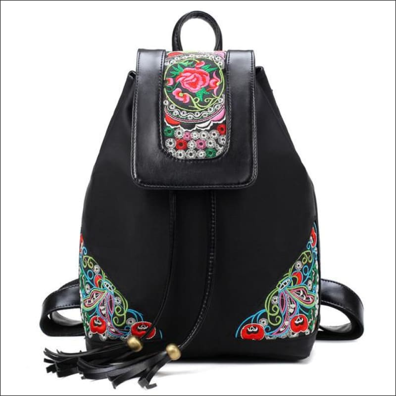 Backpacks GushGush Backpacks Embroidery Fashion School Bag