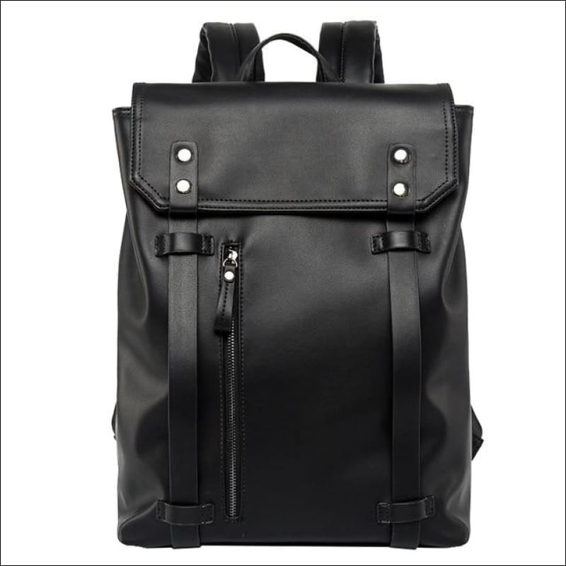Backpacks GushGush Backpacks New Simple Solid Shoulder Backpack