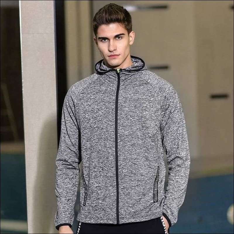 Men Hoodies & Sweatshirts GushGush Men Hoodies & Sweatshirts Street Hoodies Street Jackets Stretched Casual Overcoat