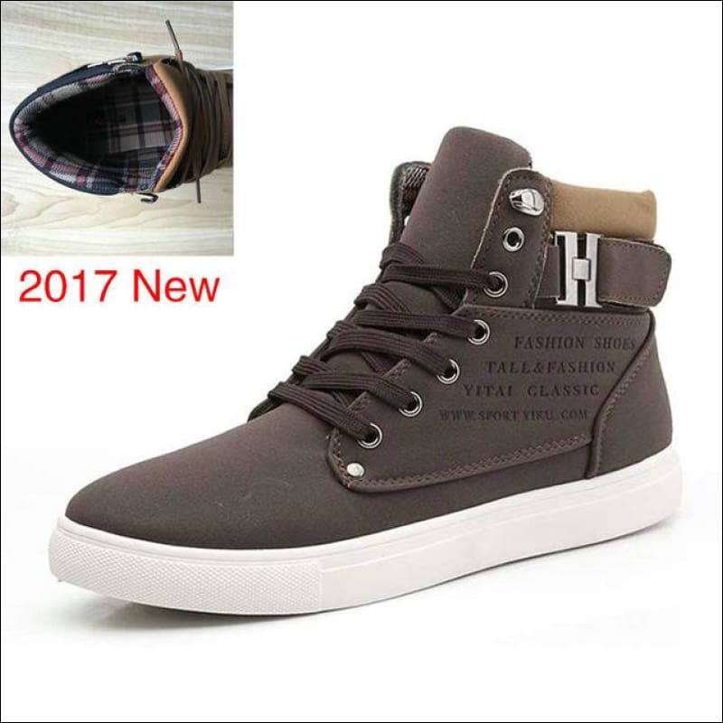 Men Shoes GushGush Men Shoes Street Shoes Warm Fur Winter Men Boots