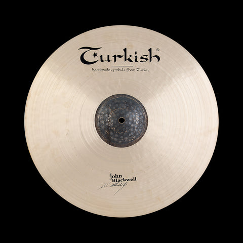 "Turkish John Blackwell Signature Crash Thin 18"" - soundstore-finland"