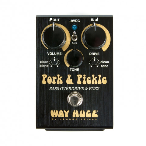 Way Huge Pork & Pickle Bass Overdrive & Fuzz - soundstore-finland