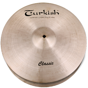 "Turkish Classic Hi-Hat 14"" - soundstore-finland"